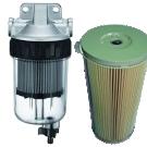 Petrol and diesel filters