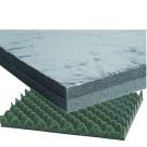Materiali fonoassorbenti, Antirombo