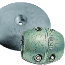 Anodes and ogives