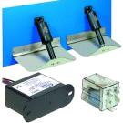 Flap actuators and pistons