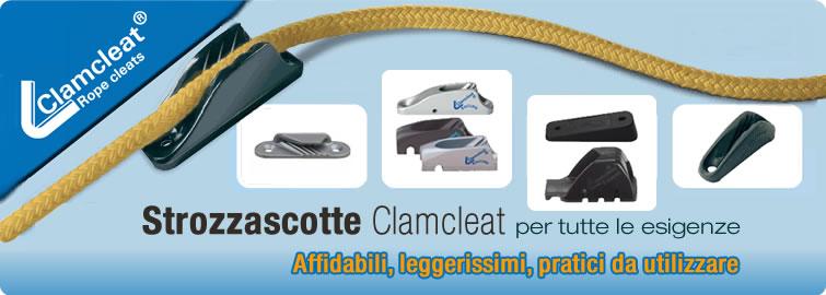 Clamcleat per scotte 4-8mm