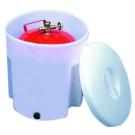 Storage hatches and cylinder accessories
