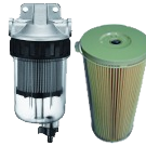 Petrol and diesel filters
