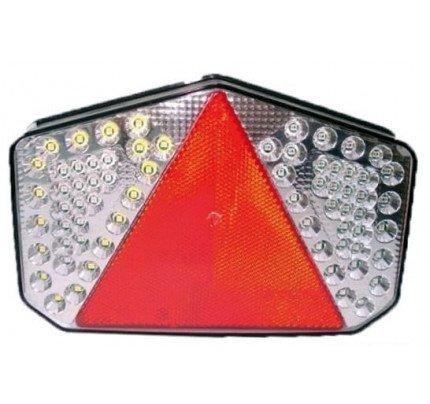 Osculati-PCG_38328-Fanale posteriore a LED con catadiottro triangolare-20