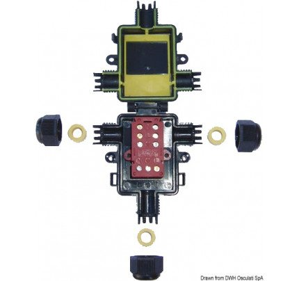 Osculati-14.373.03-Teebox Scatola di Derivazione Stagna-20