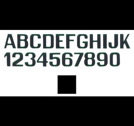 International Letterfix-PCG_FN59590010-LETTERE E NUMERI NERE MM.150-20