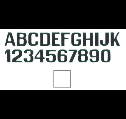 International Letterfix-PCG_FN59590150-LETTERE E NUMERI BIANCHE MM.200-20
