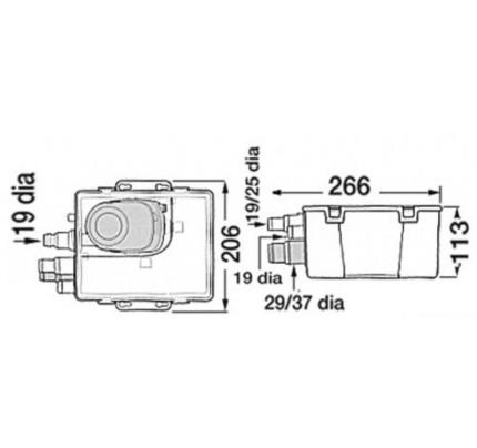 Attwood-PCG_1221-Pozzetto di raccolta acque grigie ATTWOOD, completo di pompa automatica-20
