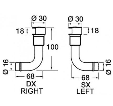 Osculati-PCG_1630-Sfiato carburante in ottone cromato con portagomma a 90°-20