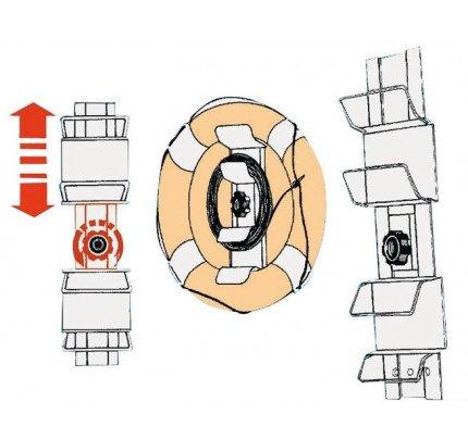Osculati-PCG_1743-Supporto regolabile per salvagente anulari e kit montaggio-20