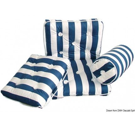 Osculati-24.430.24-Cuscino con schienale cotone blu e bianco-20