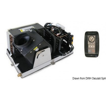 Climma-50.241.16-Condizionatore + pannello 220 V 16000 BTU-20
