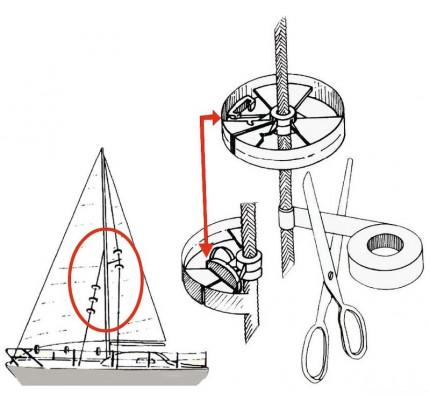 Osculati-57.373.40-Coppia rotelle protezione Sailguard-20