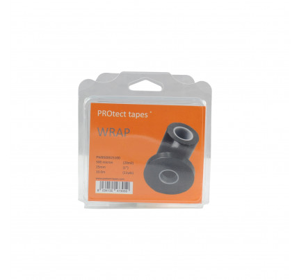 PROtect tapes-PT-PWB500025100-Nastro Wrap nero 500 micron 25mm x 10m-20