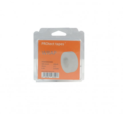 PROtect tapes-PT-PWW500025050-Nastro Wrap bianco 500 micron 25mm x 5m-20