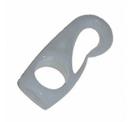 Oltrevela.com-OV-1310-Gancio nylon per elastico Ø10mm colore bianco-20