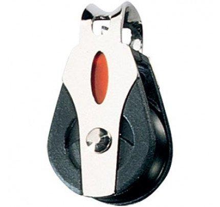 Ronstan-RF20101-Serie 20 BB Bozzello singolo attacco fisso, Ø puleggia 20mm, Ø scotta massima 6mm-20