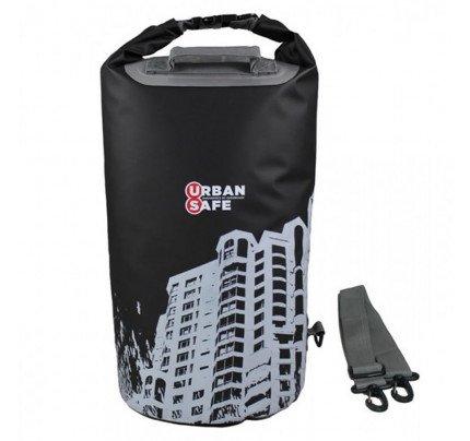 OverBoard-US1005BLK-CITYSCAPE-Sacca stagna Urban Safe 20 lt nera modello City-21