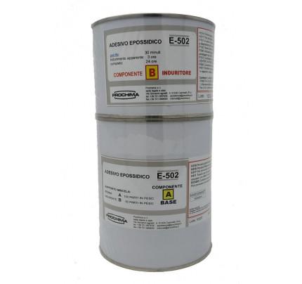 Mastice epossidico bicomponente E-502 1Kg