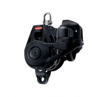 Ronstan-RF56330B-Serie 55 BB Orbit Block™, Bozzello triplo con arricavo, strozzatore e testa girevole-21