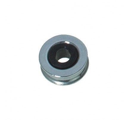 Viadana-21.60-Puleggia in acciaio inox con inserto plastico Ø16mm, D2:5.2mm, D3: 5mm, S:6.4mm G:12.7mm-21