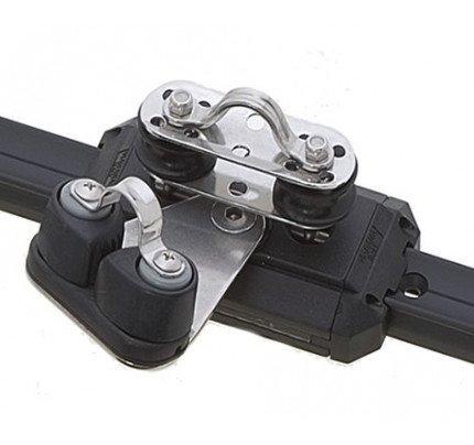 Viadana-24.42-Carrello con pulegge di rinvio basculanti e strozzascotte per rotaia 25mm-20