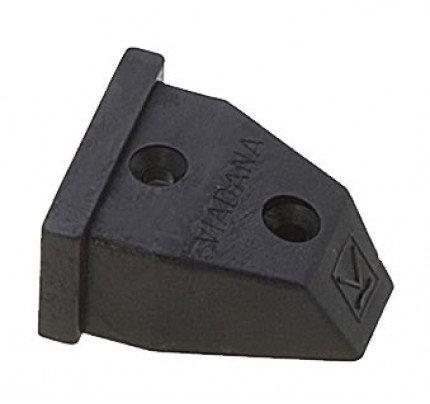 Viadana-24.86-Terminale ammortizzatore per rotaia 31mm-20