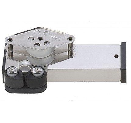 Viadana-24.88-Terminale inox bozzello, arricavo e strozzascotte per rotaia 31mm-20
