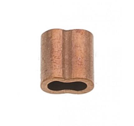 Viadana-46.03-Manicotto in rame per pressatura cavo Ø3mm-20
