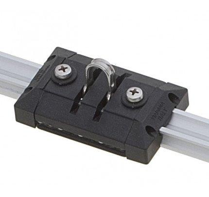 Viadana-94.01-Carrello con grillo basculante per rotaia 19mm-20