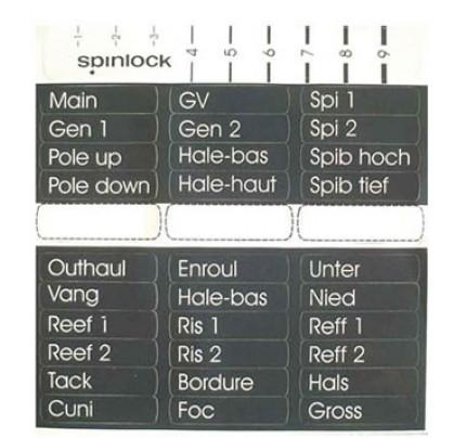 Spinlock-X-LBL-Etichetta per leve-21