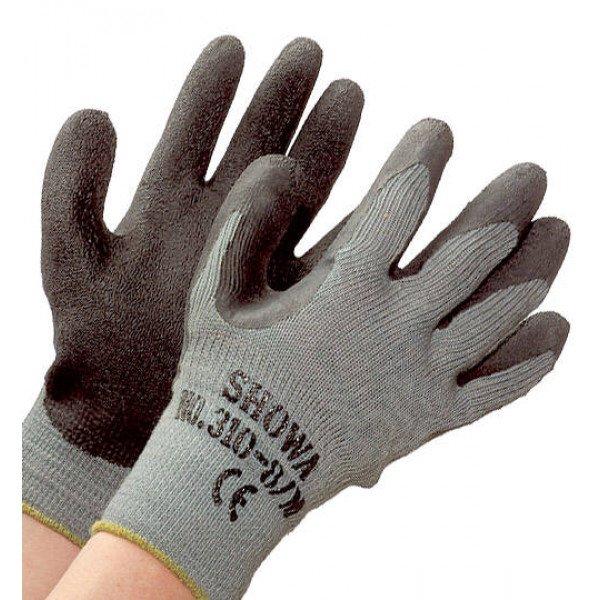 Showa-KIT-5-310BLK-Guanto in maglia di cotone/lattice, massimo grip (5 pezzi)-30