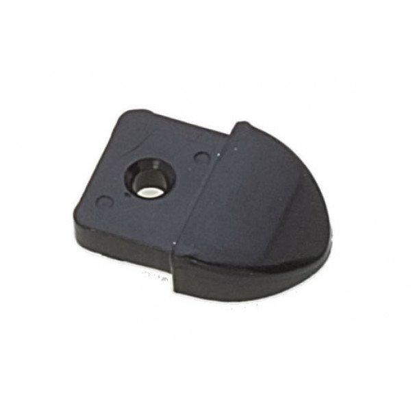 Viadana-23.11-Terminale in nylon per rotaia da 28mm-30