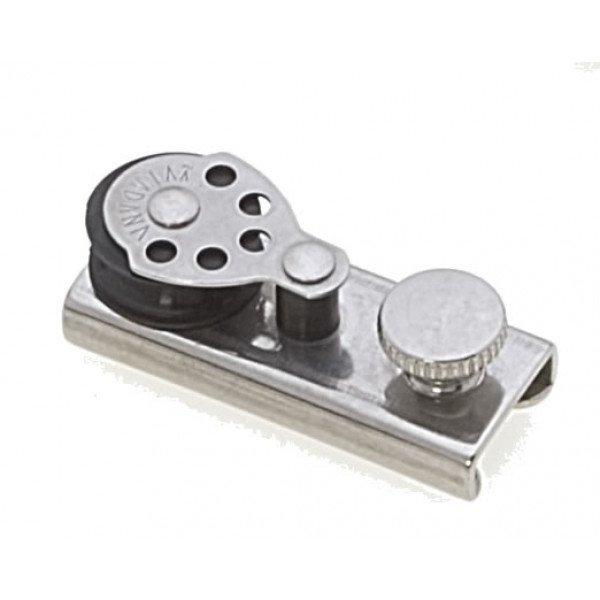 Viadana-23.16-Cursore con bozzello piano per rotaia 22mm-30