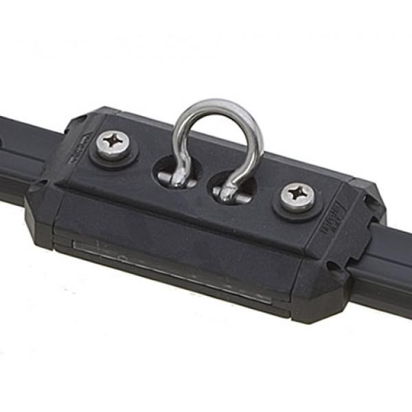 Viadana-24.70-Carrello corto con grillo forgiato basculante per rotaia 25mm-30
