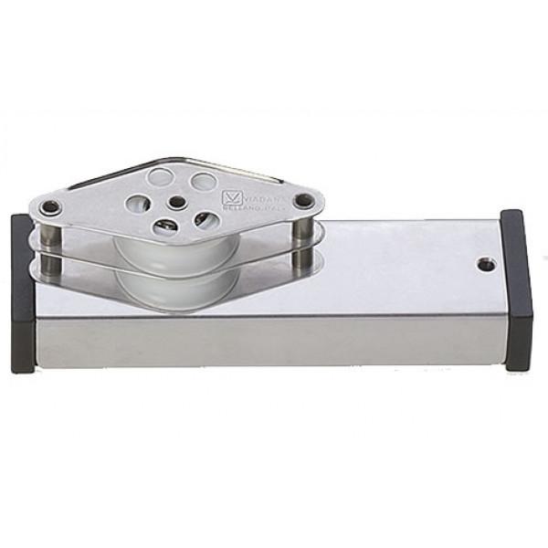 Viadana-24.87-Terminale inox con arricavo e bozello doppio per rotaia 31mm-30