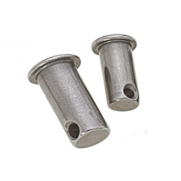 """Viadana-30.15-Pernetto forato, diametro perno 4mm, misura """" L"""" 9mm-30"""