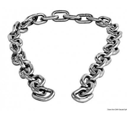Osculati-PCG_25505-AISI 316 stainless steel chain piece-20