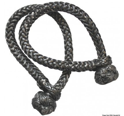 Marlow-08.310.04-Soft shackle in black Dyneema 4 mm-20