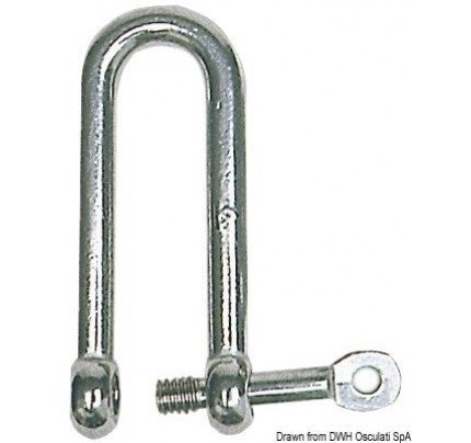 Osculati-PCG_536-Long Dshackles with captive pin-20
