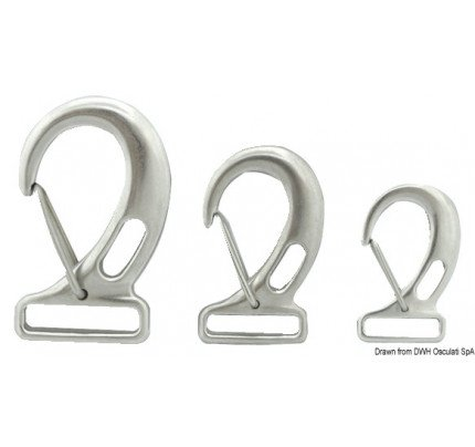 Osculati-PCG_575-Snap-hooks with rectangular eye for webbing, made of stainless steel-20