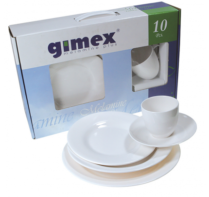 Gimex-FNI2563524-WHITE DREAMS SET. 2 PERSONE 10pz-20