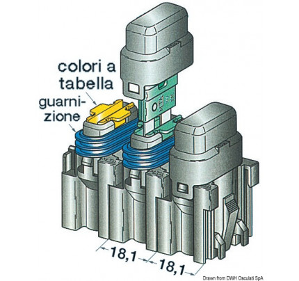 Osculati-PCG_898-Fuse holder with cover, modular model-20