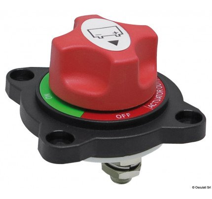Osculati-14.385.25-Semi-recessed battery switch ON-OFF-OUT-20