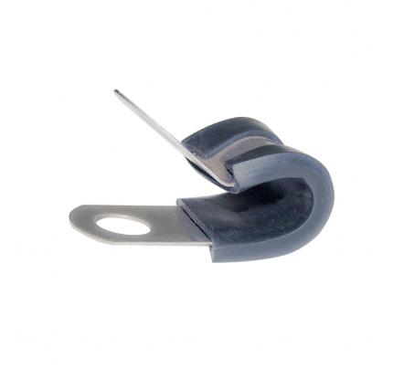 Clamp-FNI2222930-FASCETTA INOX-GOMMA Ø MM.30-20