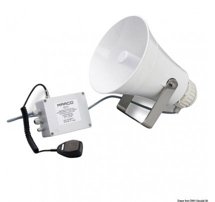 Marco-PCG_1691-MARCO electric horn with amplifier, suitable for boats from 20 to 75 metres-20