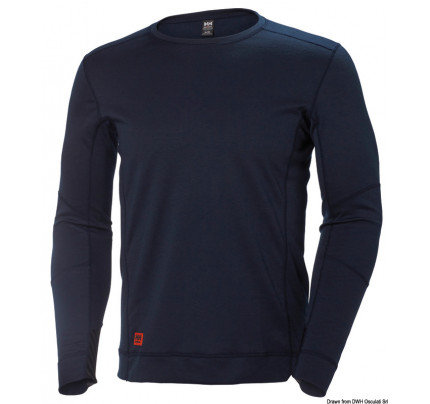 Helly Hansen-24.512.05-HH Lifa Max underware T-shirt navy blue XXL-20