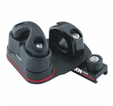 Harken-HK452P-16 mm Pinstop Car Swivel, Cam Cleat, Port Carrelli regolabili per derive/passascotta regolabile carbo-cam 365 (sinistra)-20
