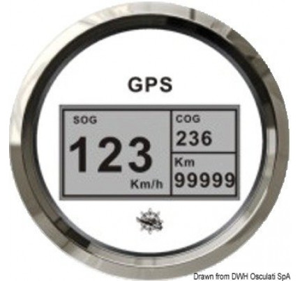 Osculati-PCG_23963-GPS speedometer/mile counter without transducer-20