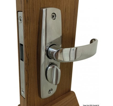 Osculati-38.130.02-Magnet-operated lock with strike plate-20